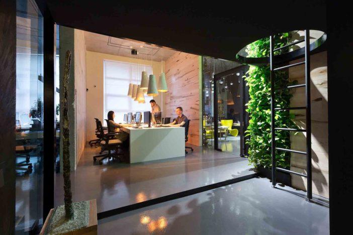 Contemporary Design Ideas for Architect Studio: Sergey Makhno Office