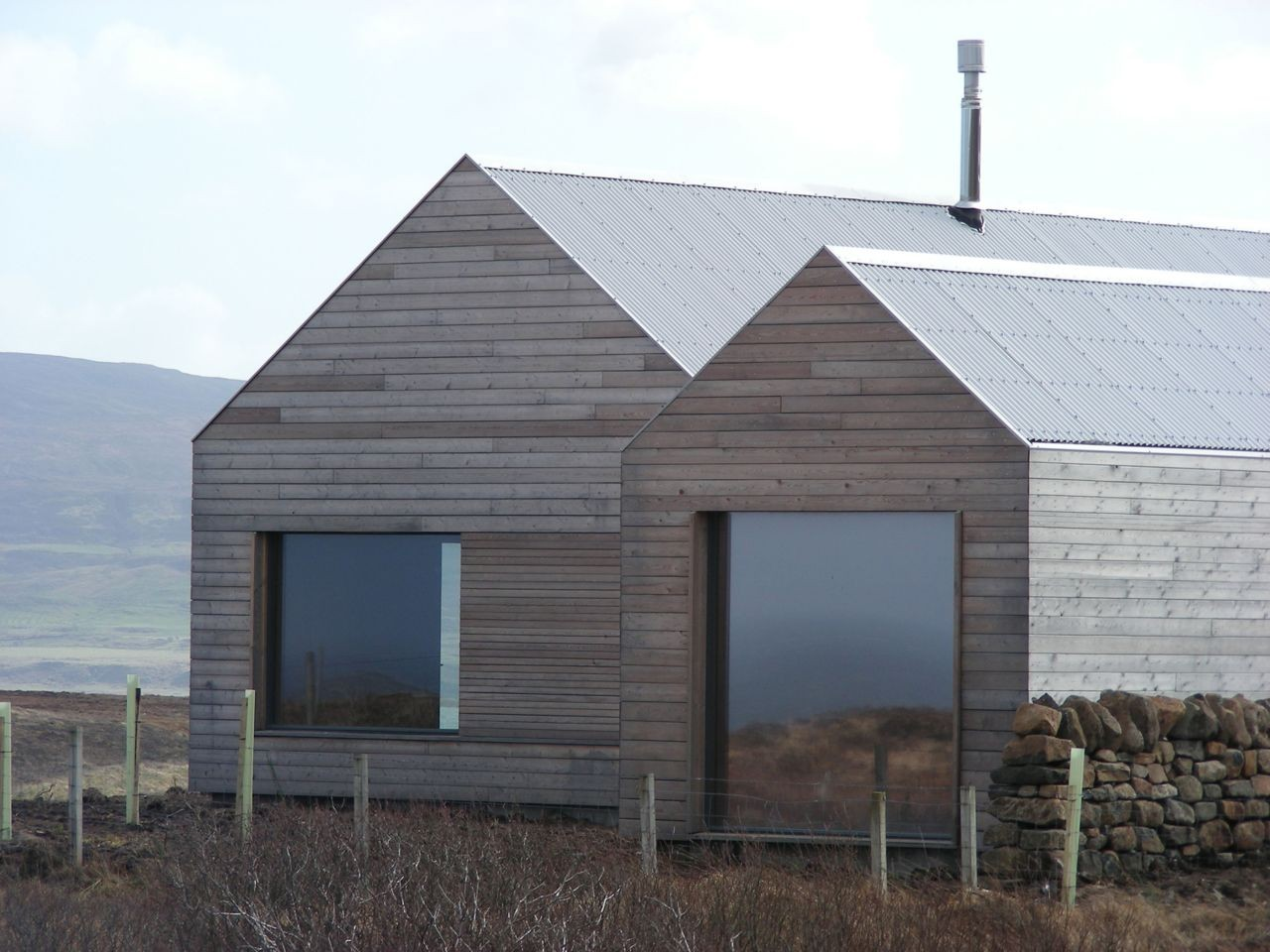 Vernacular modern architectural design ideas the borreraig house in scotland united kingdom Home design ideas photos architecture