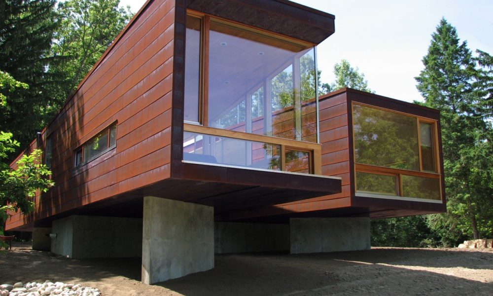 Eco Friendly Home Design Ideas The Koby Cottage In Michigan US By Garrison Architects