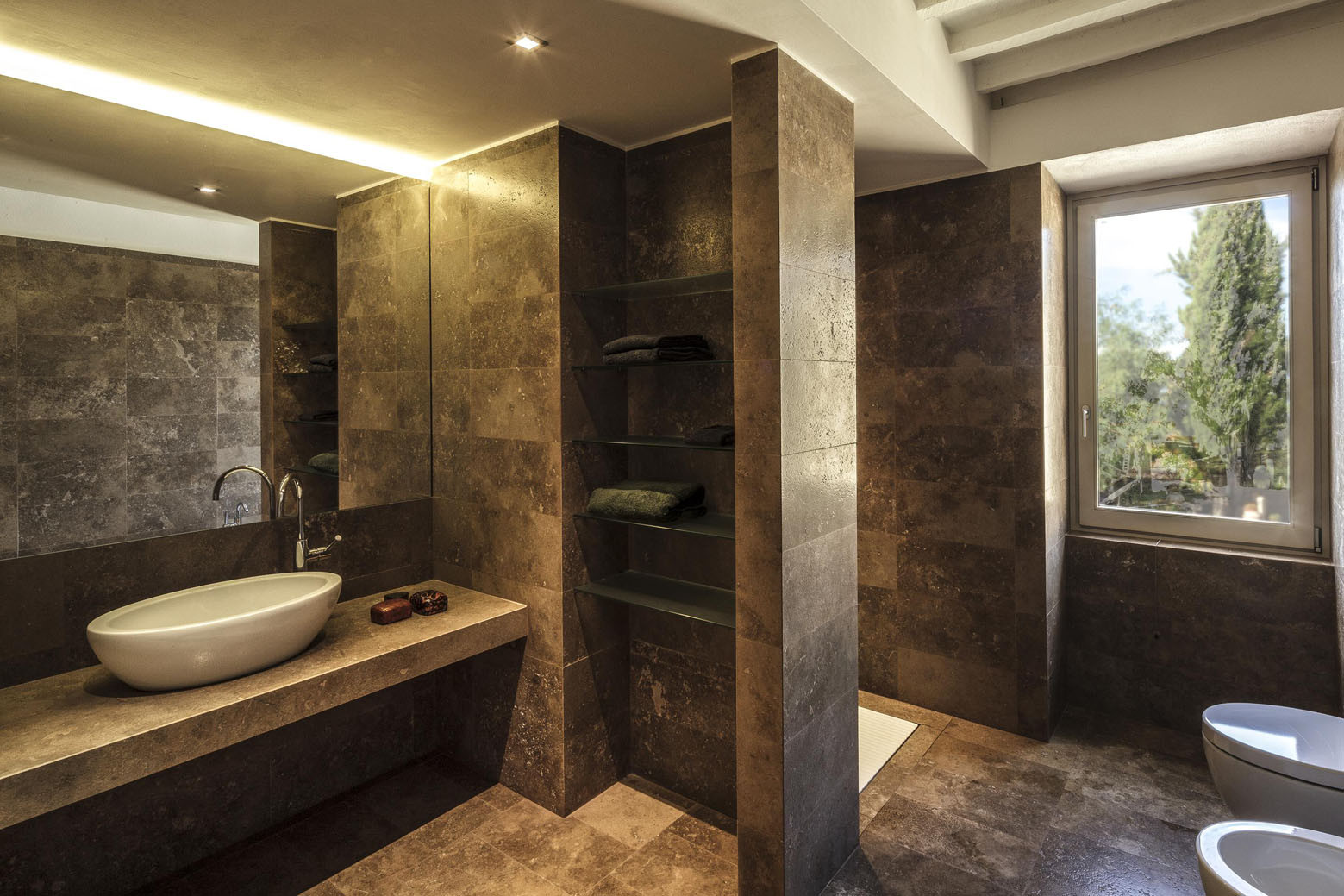 Badezimmer design modern