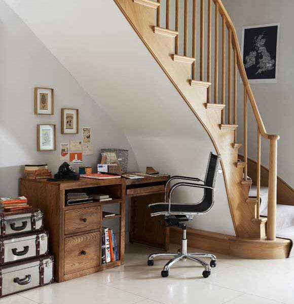 Desk Under Stairs Design Ideas Office Under Staircase
