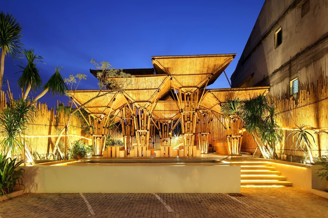 Innovative Architectural Design Ideas The Restaurant At Greenville By Dsa S Indonesia