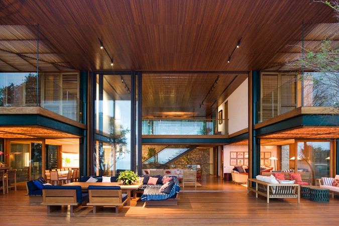 Beautiful Design Ideas For Vacation Home: The Guaruja House In Brazil By  Bernardes Jacobsen